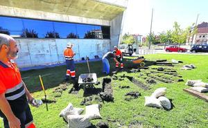 Miranda tendrá listo a finales de octubre el Jardín de la Memoria junto al centro cívico