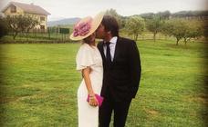 La invitada bilbaína más elegante de una boda 'MasterChef'