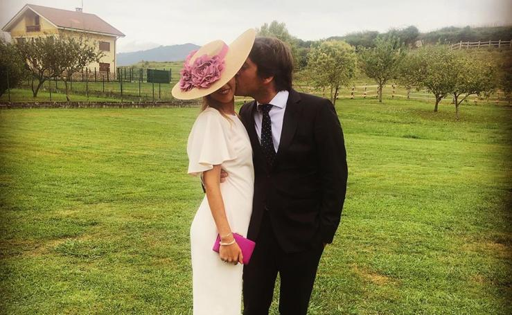 Aitana, la invitada más elegante de una boda 'MasterChef'