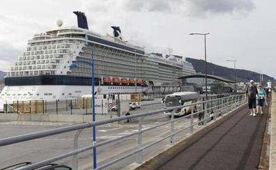 Los muelles de Getxo reciben hasta julio 16.600 cruceristas menos que en 2018