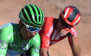 El viento resucita a Quintana en una Vuelta enloquecida