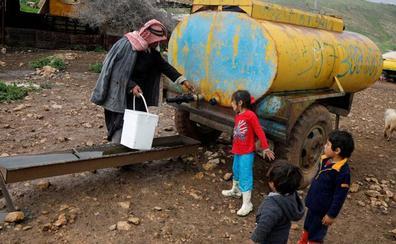 Los colonos del Jordán miran a Trump