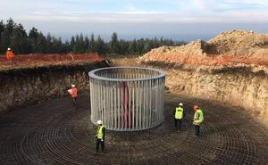 La firma vasca GES construirá cinco parques eólicos en Zaragoza