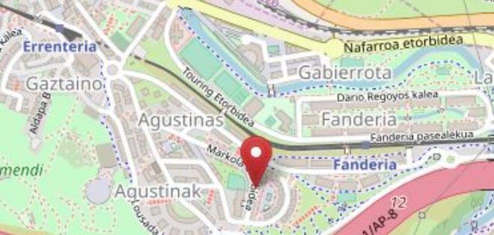 Fallece una mujer de 78 años tras ser atropellada por un camión de la basura en Rentería