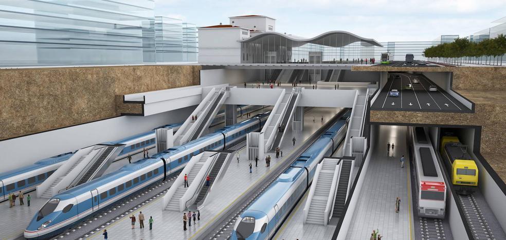 Los arquitectos piden ubicar en superficie los cuatro carriles de tráfico previstos en túnel