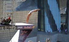 «Bilbao es el sitio perfecto para saltar»