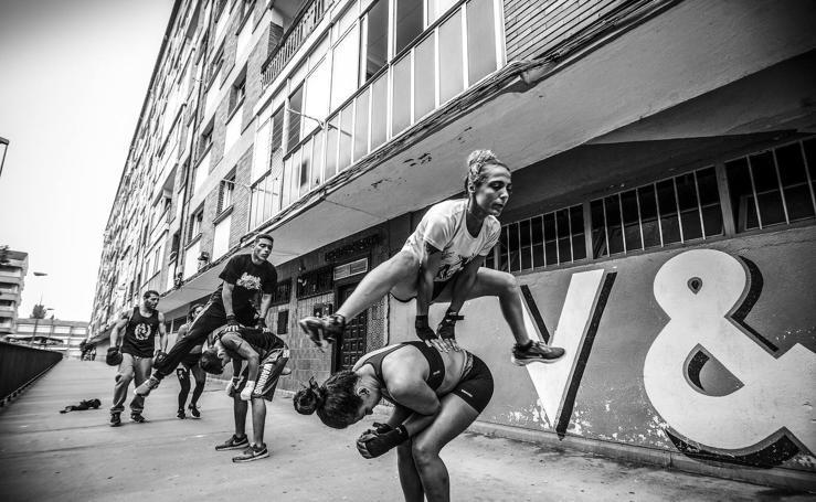 Arana, un barrio con 'punch'