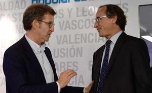 Alonso y Feijóo unen sus fuerzas a favor de un pacto con el PSOE para desbloquear el país
