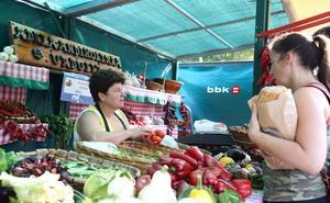 La feria agrícola de Muskiz reunirá 90 puestos el domingo