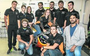La Moto GP 'green' diseñada en Vitoria