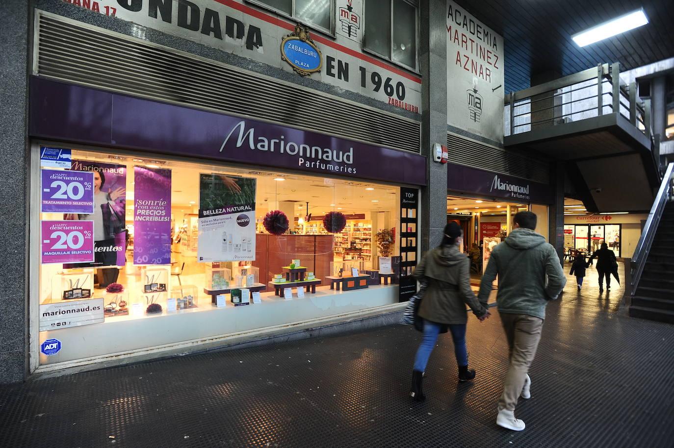 Marionnaud cerrará en enero sus 10 perfumerías vizcaínas y dejará en la calle a más de 50 empleadas