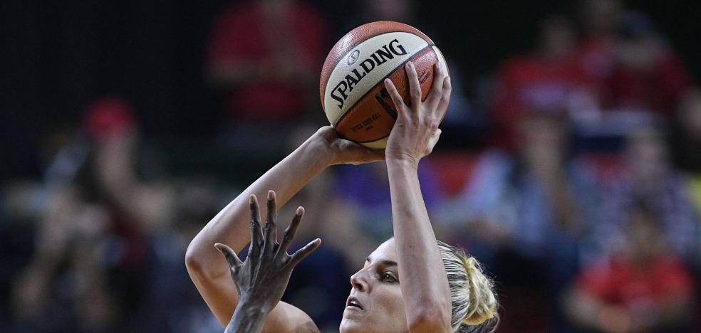 La baloncestista Elena Delle Donne entra en el club 50-40-60