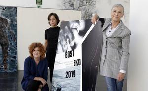 La exposición itinerante Bosteko vuelve a Basauri y Arrigorriaga con rostro de mujer