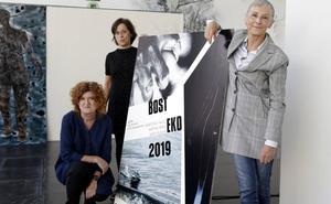 La exposición itinerante Bosteko abre en Leioa una edición con rostro de mujer