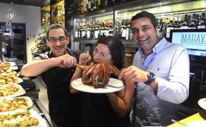 El Maraxe lleva sabor gallego a Barakaldo