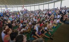Una fiesta infantil en Vitoria para los cooperativistas del futuro
