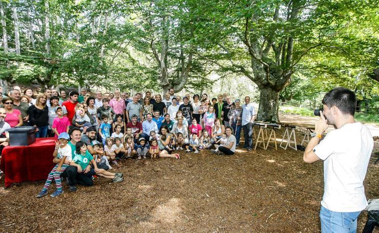 El Parque Natural del Gorbeia celebra su veinticinco aniversario