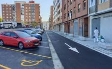 Erandio habilita 44 aparcamientos en la calle Alkone de Astrabudua
