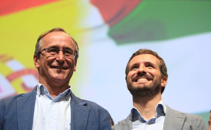 Las imágenes de la convención del PP vasco en Vitoria