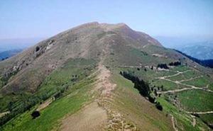 Rescatado en helicóptero un ciclista herido en el monte Ganekogorta
