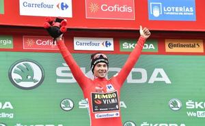 Paseo triunfal para Roglic hasta el podio de Madrid