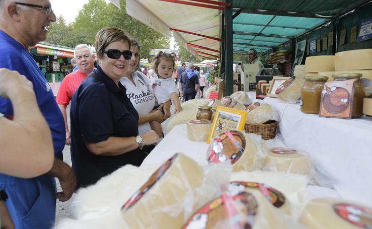 La feria agrícola de Muskiz reúne 90 puestos