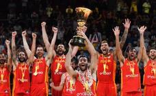 La mejor España del torneo aplasta a Argentina