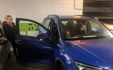 Desvalijan una quincena de coches en tres garajes de Zabalgana y Mariturri