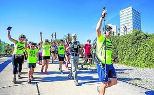 Un recorrido verde por Vitoria y de lo más solidario