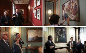 El Bellas Artes cede seis cuadros más al Palacio Chávarri