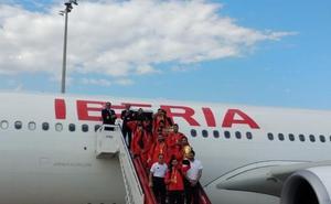 Los héroes de Pekín ya están en Madrid