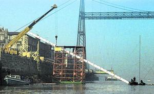 El Consorcio repara una vieja tubería submarina para abastecer a las dos márgenes en una urgencia
