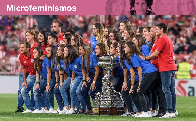 Una mujer y 15 hombres en el organigrama del Athletic femenino. Llamativo, ¿no?