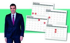 Calendario   Las fechas clave hasta el 10-N