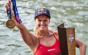 El gran salto de la clavadista que ganó en Bilbao: de shows en cruceros a ser la mejor del mundo