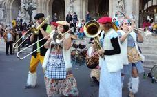 La música toma la calle en Erandio