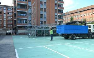 Ugao pone en marcha el parking rotatorio de Gernikako Enparantza
