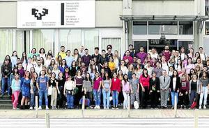 La UPV recibe a 575 estudiantes extranjeros: «Elegí venir a Bilbao por la lluvia, el mar y el monte»