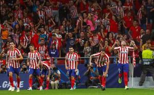 El Atlético empieza con un punto de ilusión