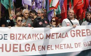 La falta de avances sobre el convenio aboca al metal de Bizkaia a otra huelga