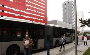 Una nueva línea de autobús unirá Zabalgana y Salburua por el Norte