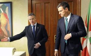 El Gobierno de Sánchez cuida al PNV y le promete «agilizar» la agenda vasca