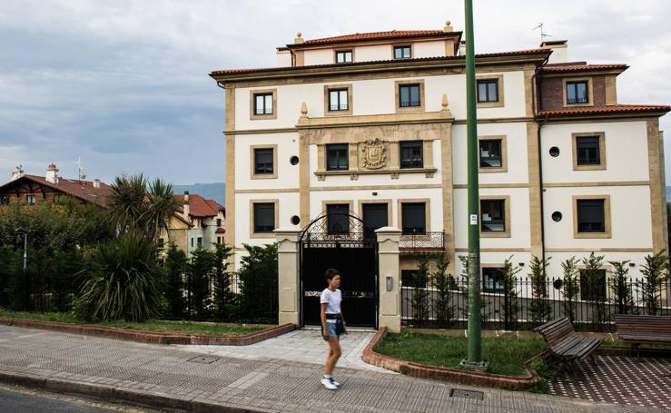 Antiguos palacios de Getxo convertidos en viviendas de lujo