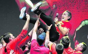 «La felicidad de los jugadores siempre es lo que más te llena»