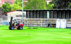 El campo del Ariznabarra podrá retomar la actividad de forma parcial la próxima semana