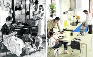 Del fogón de la amama a la cocina de la igualdad