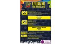 Programa de fiestas de Laukiz 2019: Laukizko San Miguel Jaiak
