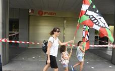 Las imágenes de la protesta de los sindicatos en Bilbao