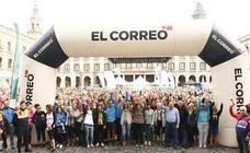 Búscate en la galería de fotos de la VIII Marcha Solidaria Green de EL CORREO