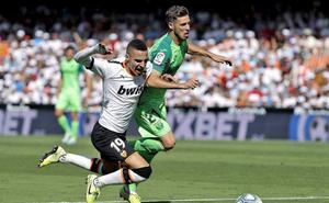 Un Valencia incapaz no pudo con un defensivo Leganés